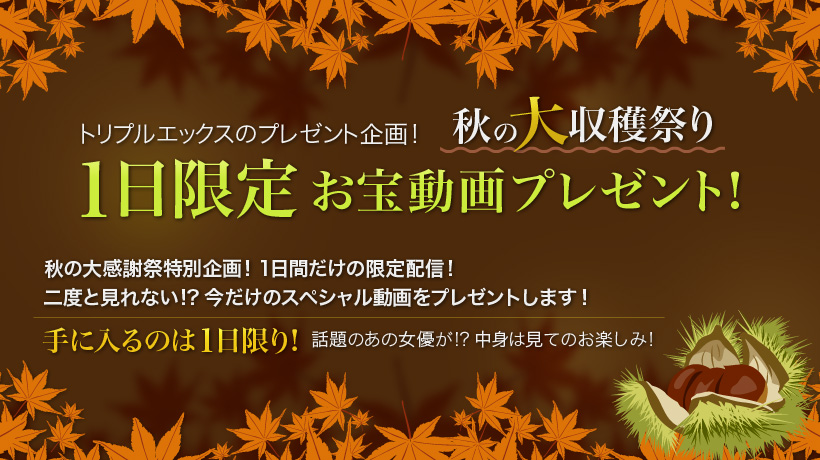 xxx-av 22168 秋の大収穫祭り 1日限定お宝動画! vol.02 元暴走族の風俗嬢